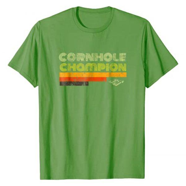Cornhole Champion Tshirt Co Graphic Tshirt 1 Cornhole Trophy Tshirt Vintage Christmas Gifts For Men 70s