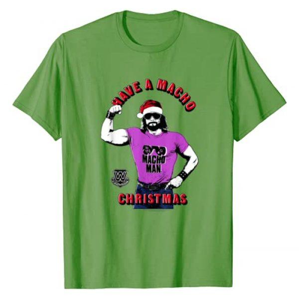WWE Graphic Tshirt 1 Have A Macho Christmas T-Shirt