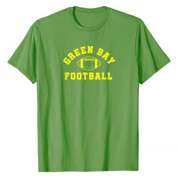 Vintage GB Football Fun Graphic Tshirt 1 Retro Green Bay Football T-Shirt