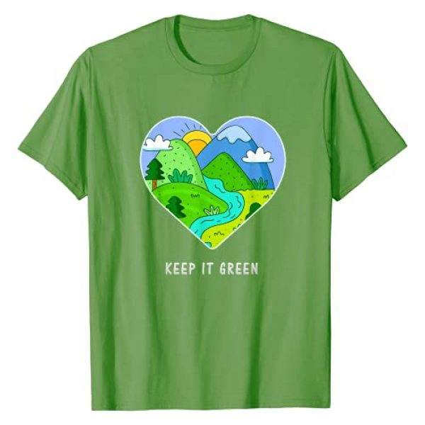 Earth Day Tees 7 Graphic Tshirt 1 Keep it Green Save the Planet Earth Day 2021 Gift Idea T-Shirt