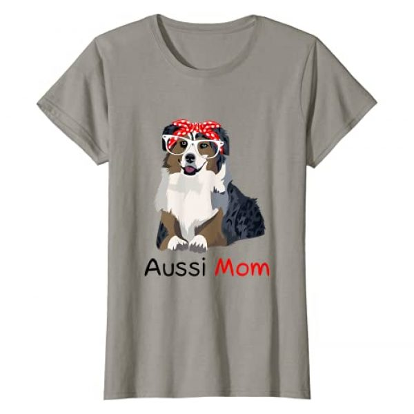 Check out my other Australian Shepherd T-shirts Graphic Tshirt 1 Aussie Mom Dog Bandana Pet Lover Gift Womens Aussie T-Shirt