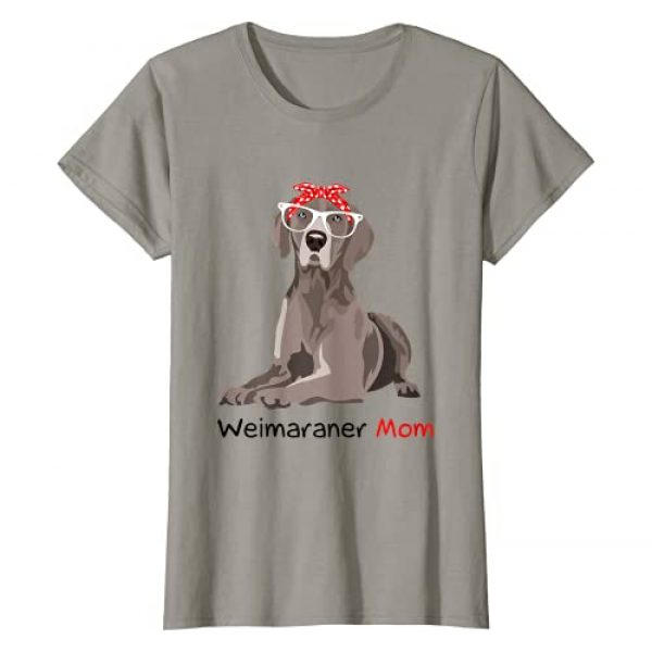 Check out my other Weimaraner T-shirts Graphic Tshirt 1 Weimaraner Mom Bandana Womens Weimaraner Dog T-Shirt