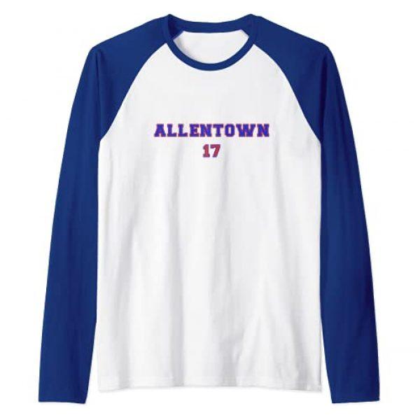 Billieve Apparel Graphic Tshirt 1 Allentown Buffalo Football Josh Allen Raglan Baseball Tee