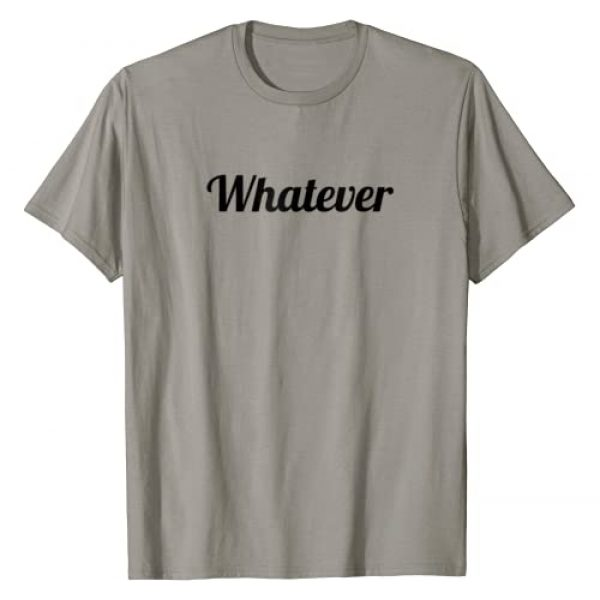 Whateva - Apparel Graphic Tshirt 1 T-Shirt that Says the word - Whatever - on it | Cute Tee