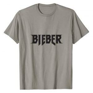 Justin Bieber Graphic Tshirt 1 Mens Justin Bieber Black Bieber Logo T-Shirt