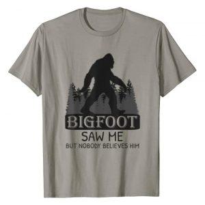 YETI Graphic Tshirt 1 Bigfoot Saw Me But Nobody Believes Him - Sasquatch T-Shirt