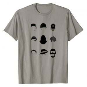 """Team Fortress 2 - For Fans By Fans Graphic Tshirt 1 Team Fortress 2 """"TF2 Minimalist Classes"""" t-shirt - TRS078"""