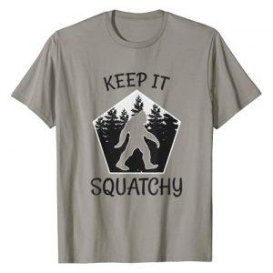 YETI Graphic Tshirt 1 Keep it Squatchy - Funny Bigfoot Yeti Sasquatch Gift T-Shirt