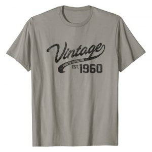 AGED TO PERFECTION Graphic Tshirt 1 Vintage Made In 1960 T-Shirt 58th Birthday Gift
