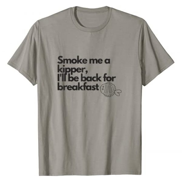 Pixel Pictures UK Graphic Tshirt 1 Smoke Me A Kipper, Ace Rimmer, Red Dwarf Quote T-Shirt