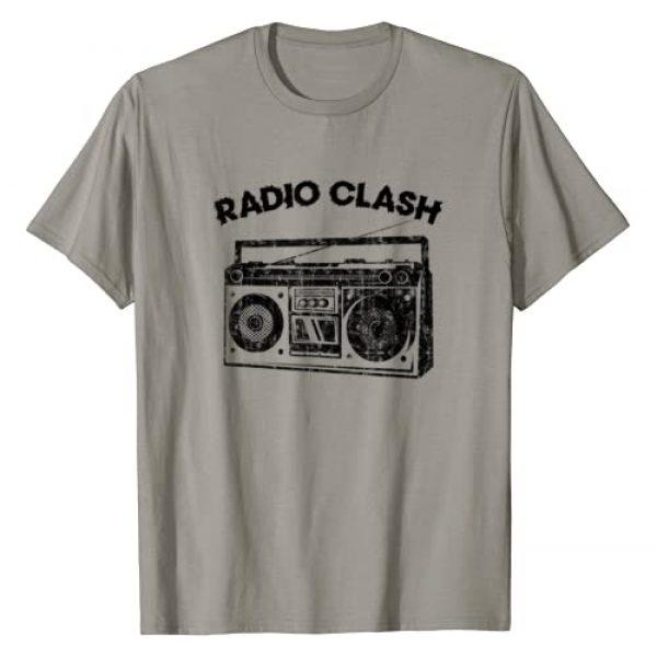 Punk Rock Gifts Graphic Tshirt 1 Retro Punk Radio Clash T-Shirt