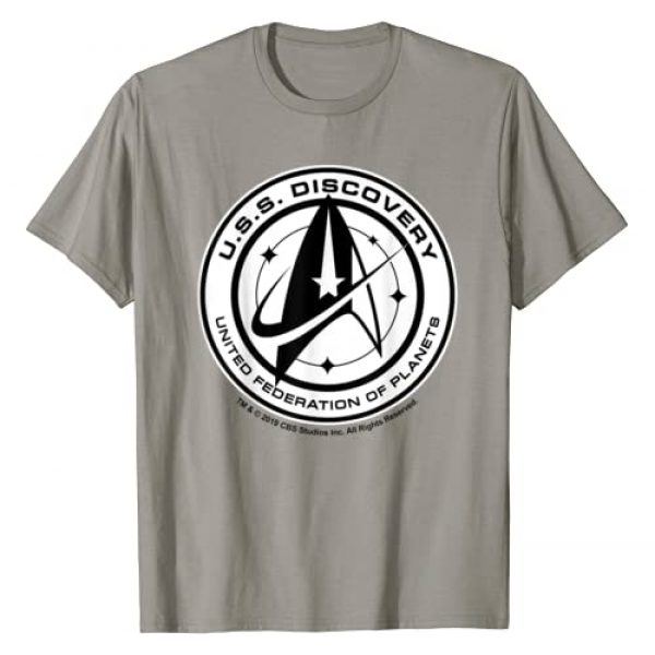 STAR TREK Graphic Tshirt 1 Discovery U.S.S. Discovery Badge T-Shirt