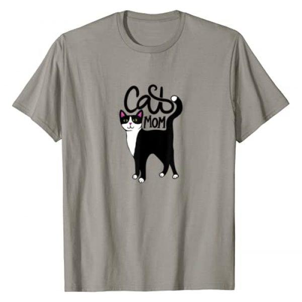 Caterpillar Graphic Tshirt 1 Tuxedo Cat Mom Cute T-Shirt