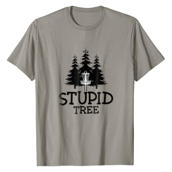 Funny Disc Golf Ultimate Frisbee Shirts Graphic Tshirt 1 Stupid Tree Disc Golf T-Shirt | Funny Frisbee Golf Tee
