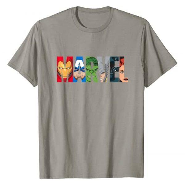 Marvel Graphic Tshirt 1 Logo Avengers Super Heroes T-Shirt