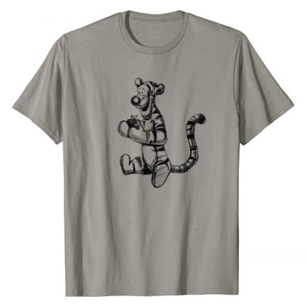 Disney Graphic Tshirt 1 Winnie the Pooh Tigger Sketch T-Shirt