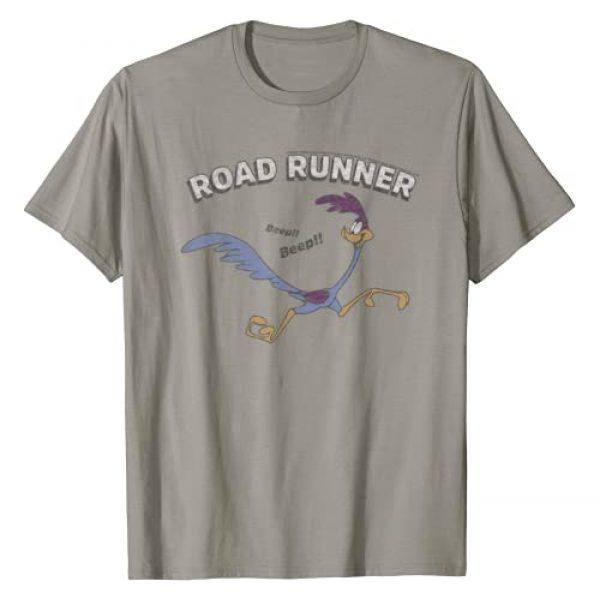 LOONEY TUNES Graphic Tshirt 1 Road Runner Distressed Portrait T-Shirt