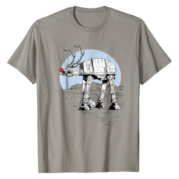 Star Wars Graphic Tshirt 1 Rudolph ATAT Walker Christmas Graphic T-Shirt