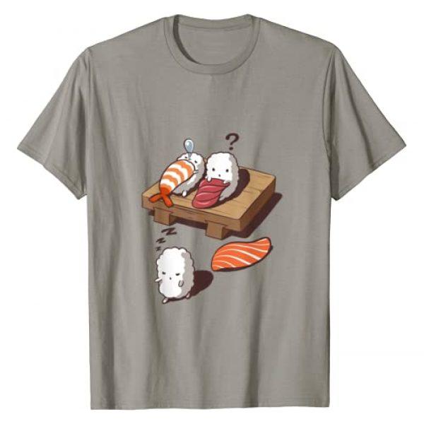 Fox Republic T-Shirts Graphic Tshirt 1 T-Shirt, Funny Sleep Walking Sushi, Japanese Foodie