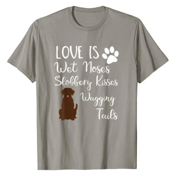 Labrador Dog Lover Gift Tees for Dog Owners Graphic Tshirt 1 Chocolate Labrador Retriever Gifts Love My Lab Dog T-Shirt