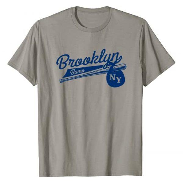 Brooklyn Gifts and T Shirts Graphic Tshirt 1 Retro Brooklyn Bums New York Baseball T-Shirt