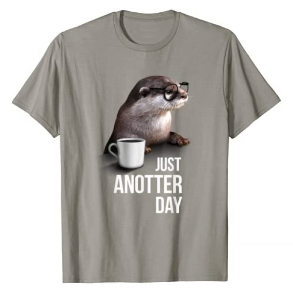 Funny Otter Shirt Graphic Tshirt 1 Funny Otter T-shirt - Just Anotter Day for Otter lover