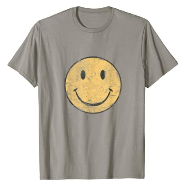 HAPPY FACE by TeePole Graphic Tshirt 1 Vintage SMILE FACE | 70's Vibe | Yellow Smile T-Shirt
