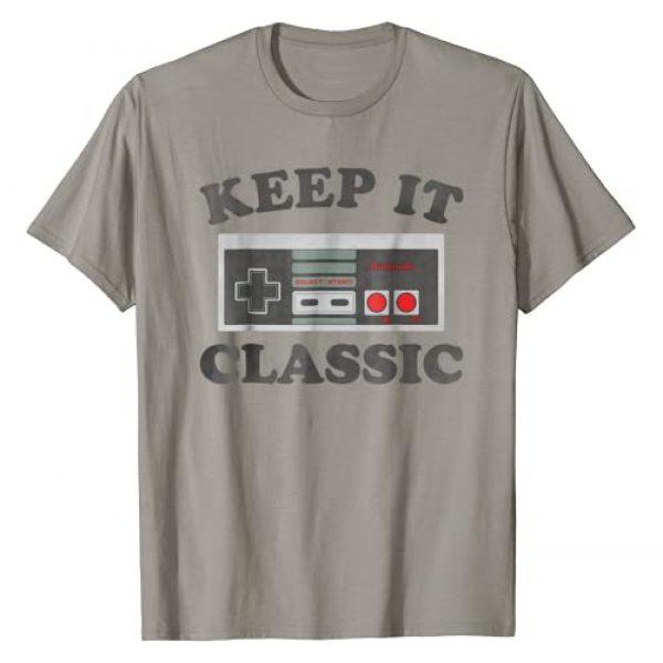 Nintendo Graphic Tshirt 1 NES Controller Keep It Classic Graphic T-Shirt