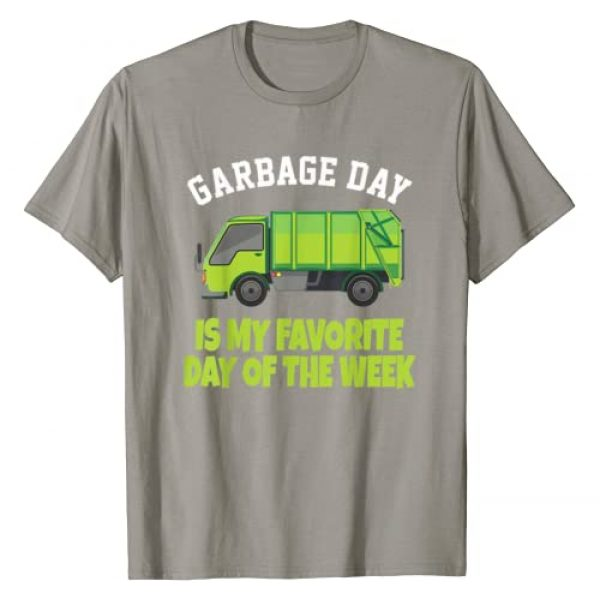 Garbage Day Shirts Graphic Tshirt 1 Garbage Day Truck T-Shirt - Funny Waste Disposal Dumpster T-Shirt