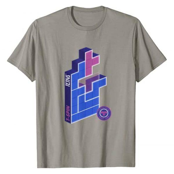 Tetris Official Product Graphic Tshirt 1 T-SPIN WINS Tetris Gamer T-Shirt