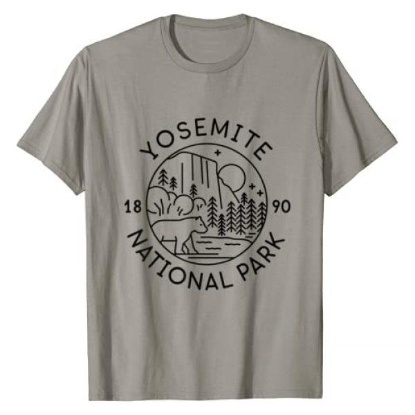 Yosemite National Park tops Graphic Tshirt 1 Yosemite National Park 1890 California T-Shirt