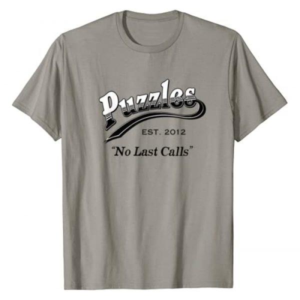 No Last Calls Apparel Graphic Tshirt 1 Puzzles Bar T-Shirt No Last Calls T-Shirt
