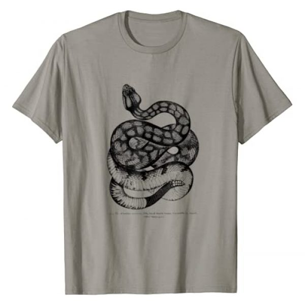Vintage Ophiology T-shirts Graphic Tshirt 1 Vintage Ophiology South American Rattle Snake Tee T-shirt