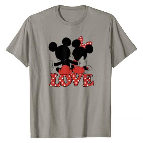 Disney Graphic Tshirt 1 Valentines Mickey Minnie Love Hug T-Shirt