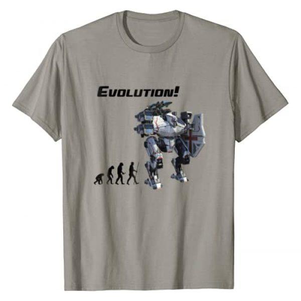 WR TShirts Graphic Tshirt 1 War Robots: Evolution T-Shirt