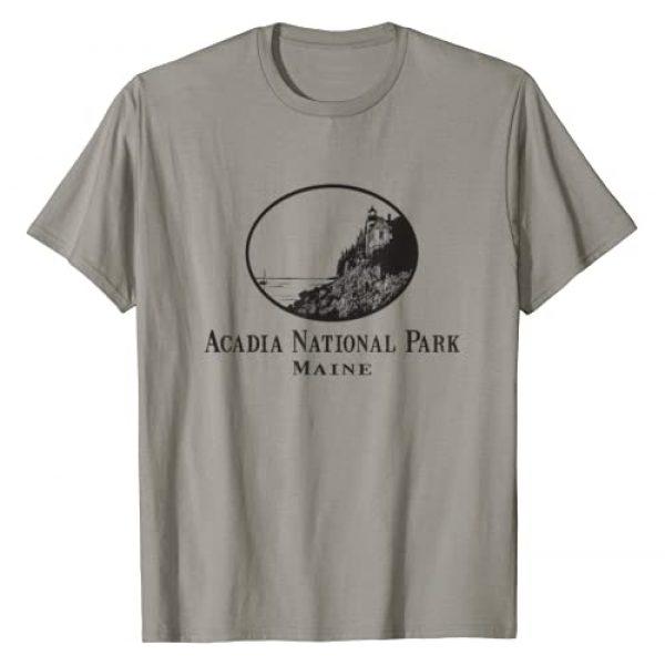 Acadia National Park Graphic Tshirt 1 Acadia National Park T-Shirt