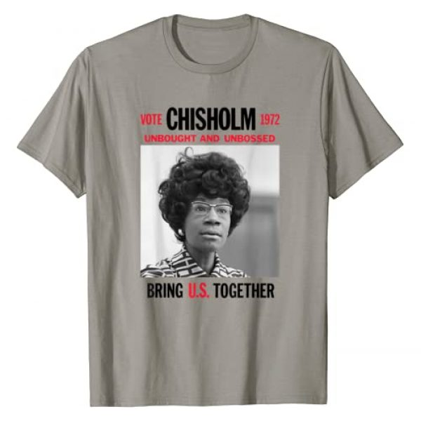 Black History Month 365 Graphic Tshirt 1 USA Black History Poster UNBOUGHT UNBOSSED Shirley Chisholm T-Shirt