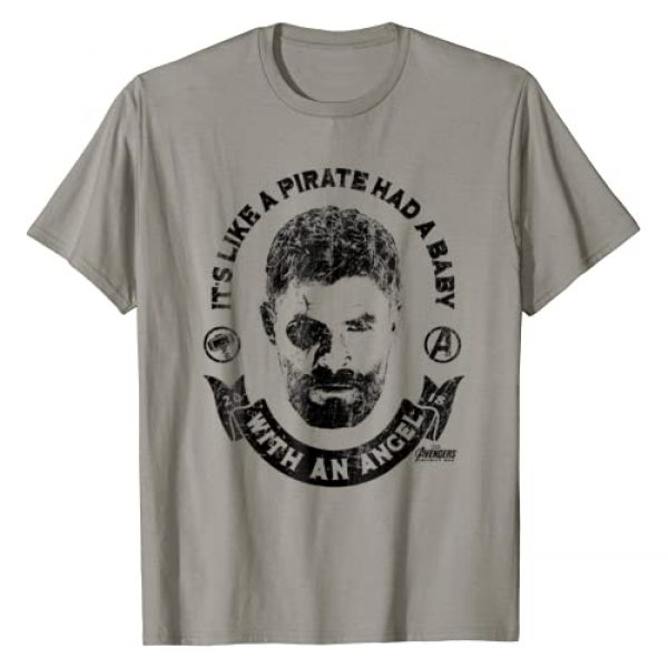 Marvel Graphic Tshirt 1 Infinity War Thor Baby Pirate Graphic T-Shirt