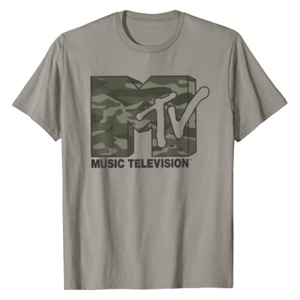 MTV Graphic Tshirt 1 Camouflage Logo Graphic T-Shirt