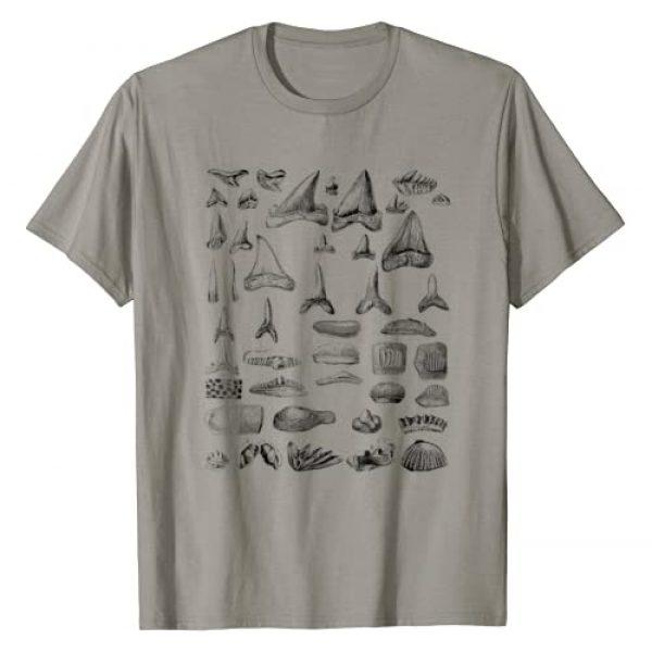 EncycloArt Graphic Tshirt 1 Shark Teeth Shirt