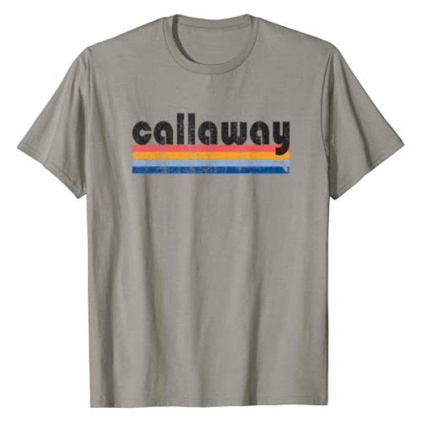Retro Callaway Souvenir Tshirt Graphic Tshirt 1 Vintage 80s Style Callaway FL T-Shirt