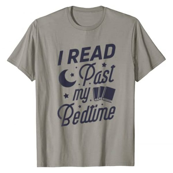 Lique Book Lover Graphic Tshirt 1 I Read Past My Bedtime T shirt Book Lover Funny Reading Gift T-Shirt