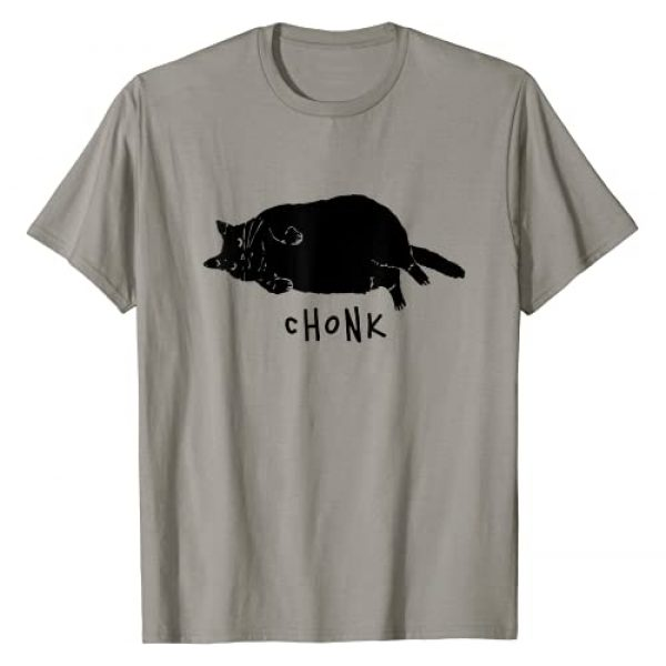 Cute Chonk Cat Shirt Graphic Tshirt 1 Funny Cat Meme - Chonk Scale Cat Meme T-Shirt