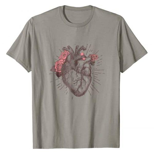 Anatomical Heart Human Heart Anatomy Shirt Graphic Tshirt 1 Women's Anatomical Heart Human Heart Anatomy Shirt Girls Tee