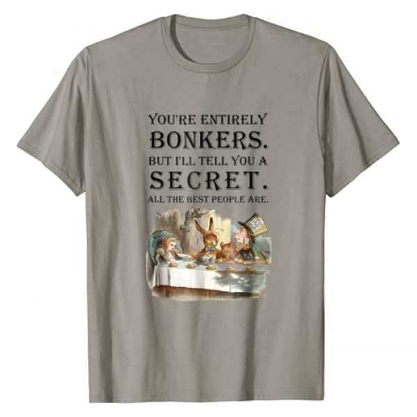 Gypsy Queen Graphic Tshirt 1 Alice In Wonderland T Shirt -You're Entirely Bonkers -