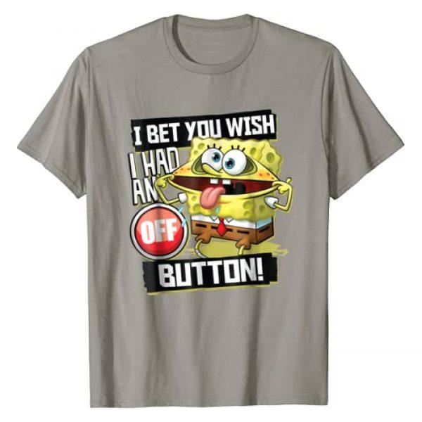 Nickelodeon Graphic Tshirt 1 Spongebob SquarePants I Bet You Wish I Had An Off Button Tee