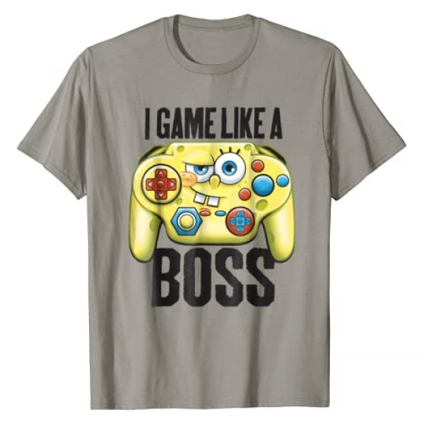 Nickelodeon Graphic Tshirt 1 Spongebob SquarePants I Game Like A Boss T-Shirt
