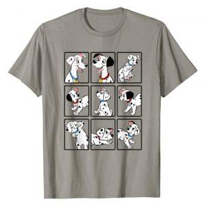 Disney Graphic Tshirt 1 101 Dalmatians Group Shot Boxes T-Shirt