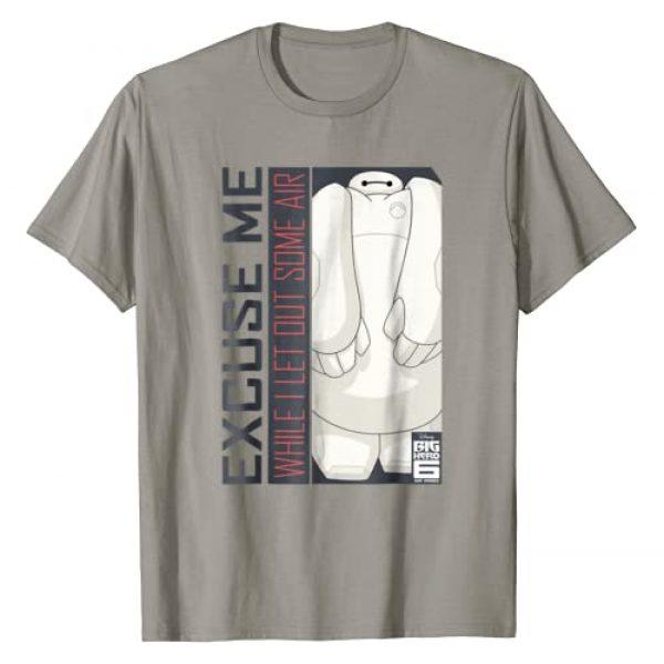 Disney Graphic Tshirt 1 Big Hero 6 TV Series Baymax Excuse Me Graphic T-Shirt