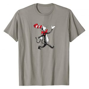 Dr. Seuss Graphic Tshirt 1 Strolling Cat T-shirt